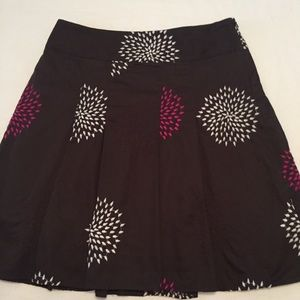 Ann Taylor Cotton pleated Skirt size 8